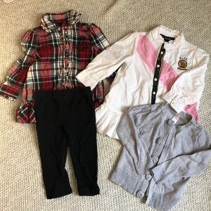 Lot of girls clothes, size 12m, Ralph Lauren